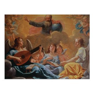 A Concert of Angels Postcard