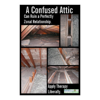 A Confused Attic Can Ruin a Perfectly Zonal Relati Poster