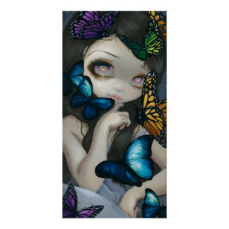 A Confusion of Wings ART PRINT butterfly fairy