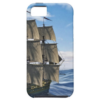A Corvette Sailing Ship Sailing on a Calm Day Case For The iPhone 5