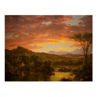 A Country Home by Frederic Edwin Church Postcard
