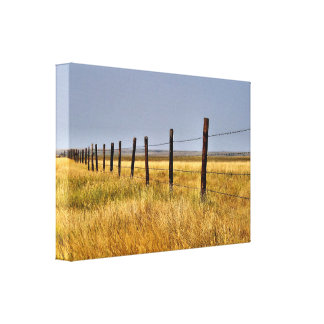 A Country Mile Canvas Print