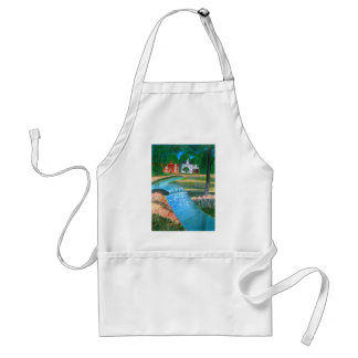 A Country Stream Standard Apron
