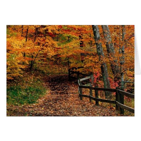 A Country Walk Card