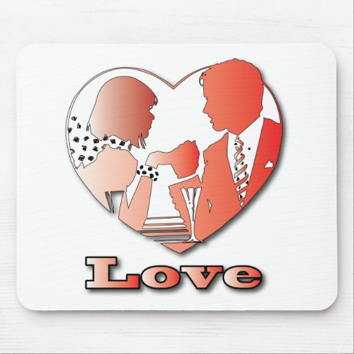A couple in love mousepad