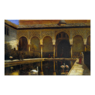 A Court In The Alhambra Poster