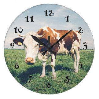 A cow, beautiful wall clock