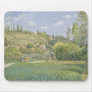 A Cowherd at Valhermeil, Auvers-sur-Oise Mouse Pad