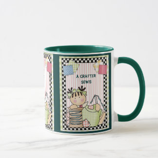 A Crafter Sews Love Mug