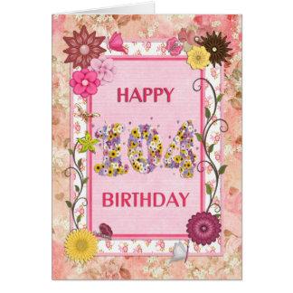 A craftlook 104th birthday card