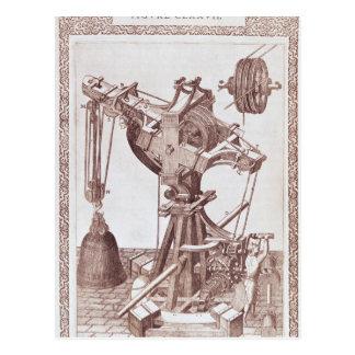 A Crane Postcard