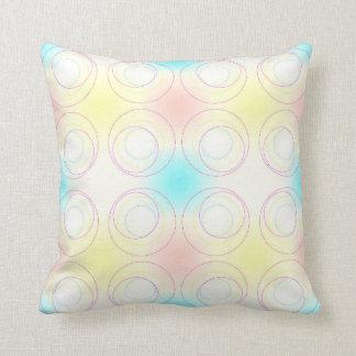 A Crop of Circles Throw Pillow