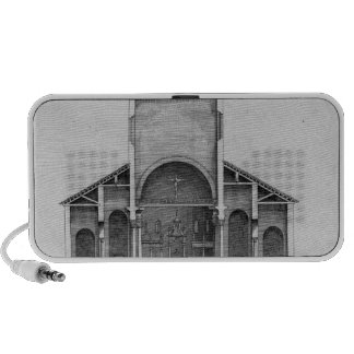 A Cross-Section of the old Vatican church Travel Speaker