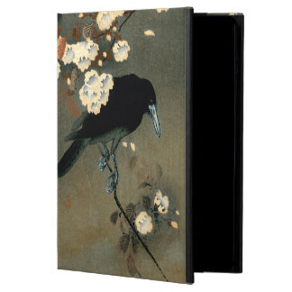 A Crow and Blossom by Ohara Koson Vintage Cover For iPad Air