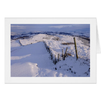 A Cumbrian winter landscape Card