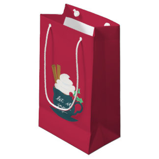 A Cup of Let It Snow Small Gift Bag