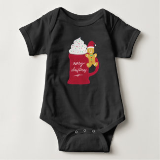 A Cup of Merry Christmas Baby Bodysuit