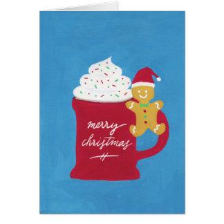 A Cup of Merry Christmas Card