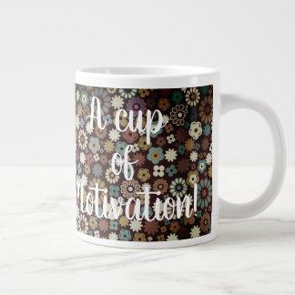 A cup of Motivation Coffee Mug