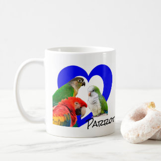 A Cup of Parrot Love