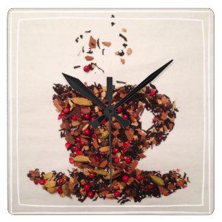 A Cup of Tea Wall Clock