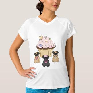 A Cupcake Sweet Pug Dogs T-Shirt