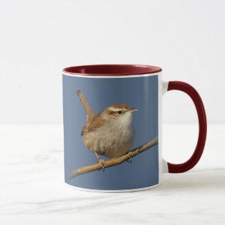 A Curious Bewick's Wren in the Tree Mug
