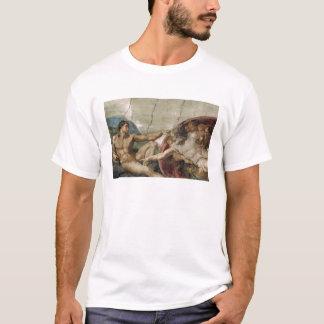 A curious god.   atheist shirt