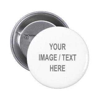 A customisé votre Image-Texte ici Badges Avec Agrafe