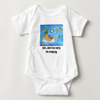 A cute baby cloth for sleeping baby bodysuit