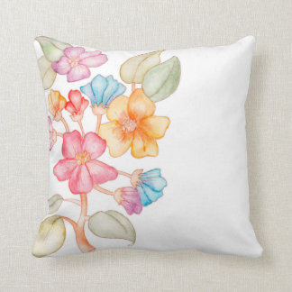 A cute cushion with floral style