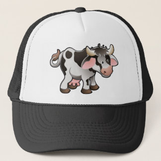 A Cute Dairy Cow Trucker Hat
