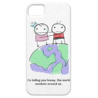 A cute earth-loving doodle by Monsterize iPhone 5 Cover