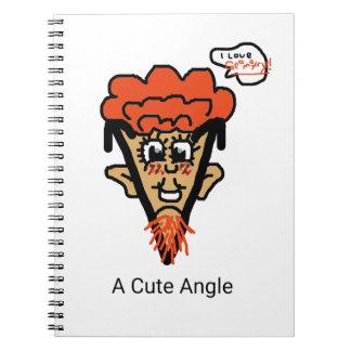 A Cute Geek Pun Notebook