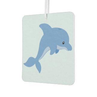 A Cute Happy Dolphin Air Freshener