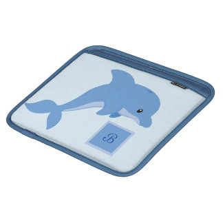 A Cute Happy Dolphin iPad Sleeve