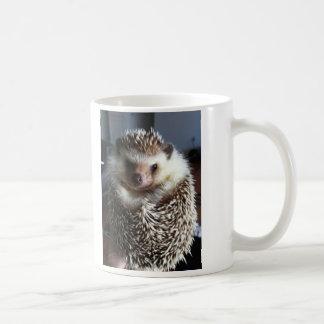 A cute hedgehog coffee mug