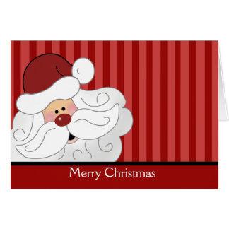 A Cute Santa Claus Holiday Christmas Card
