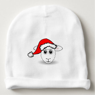 A cute small lamb for Christmas - Baby Beanie