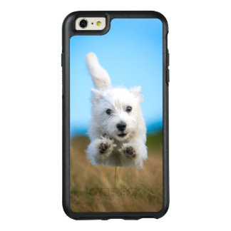 A Cute West Highland Terrier Puppy Running OtterBox iPhone 6/6s Plus Case