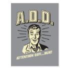 A.D.D.: Attention Defi…Huh? Postcard
