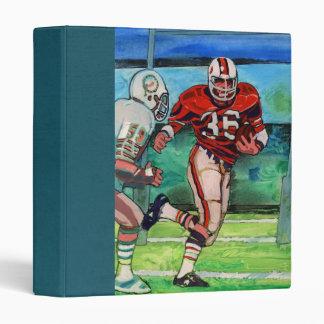 a dads football Scrapbook 3 Ring Binder