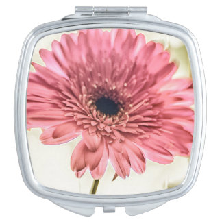 A Daisy for You a pink daisy digital photograph Vanity Mirrors