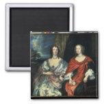 A. Dalkieth  and Lady Kirk, 1640 Fridge Magnet