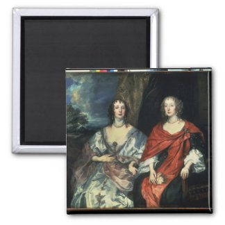 A. Dalkieth  and Lady Kirk, 1640 Square Magnet