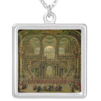 A Dance in a Baroque Rococo Palace Pendants