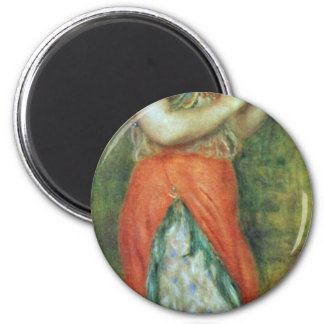 A Dancer With A Tambourine By Pierre-Auguste Magnet