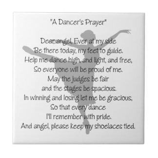 A Dancer's Prayer Ceramic Tiles