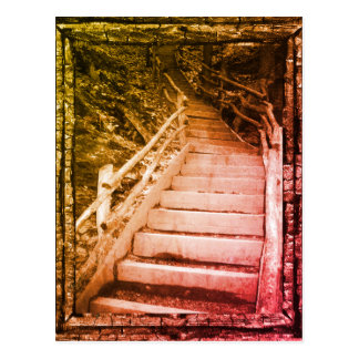 A Dark Path Postcard