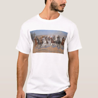 A Dash for the Timber by Frederic Remington T-Shirt